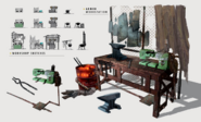 Art of Fo4 Armor workbench