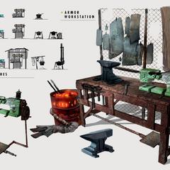 Armor workbench