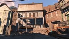 FO4 Abandoned house morning