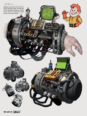 FO4 Art of FO4 PipBoy 1