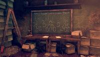 FO76WL Grafton Pawn Shop (chalkboard clean)
