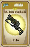 FOS Rifle láser amplificado carta