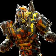 Fallout 1st Atom Camo Robot