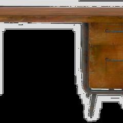Дерев'яний стіл в стилі хай-тек