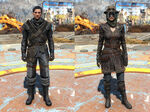 Fo4CC Mercenary troublemaker outfit
