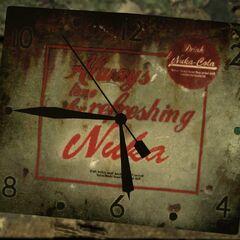 Рекламні годинники «Ядер-коли» (<i>Fallout 3</i>)