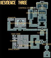 Secret Vault residence three