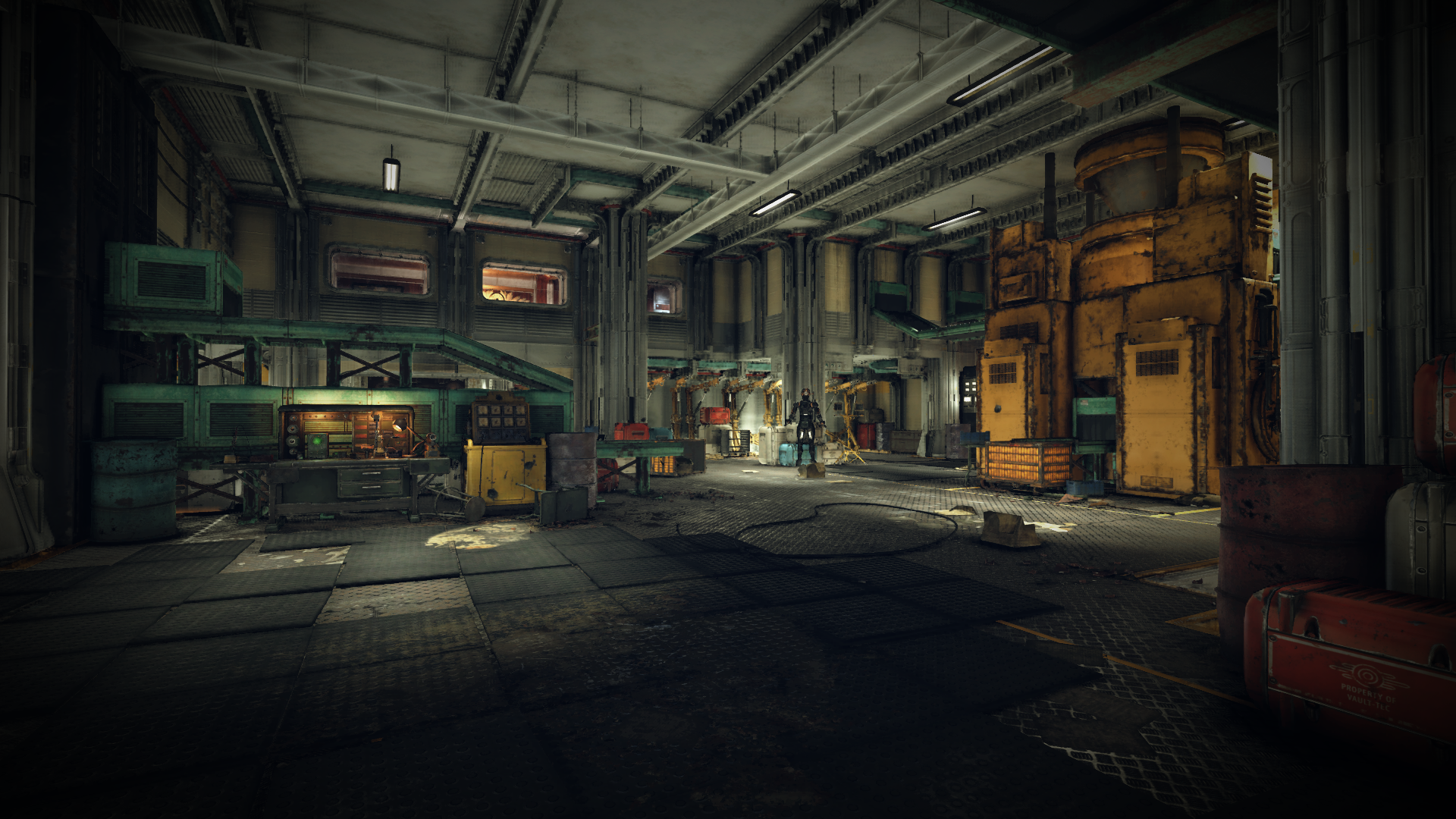 Whitespring bunker production bay