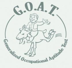 FO3 GOAT emblem