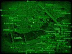 FO4 Гараж в Кендалле (карта мира)
