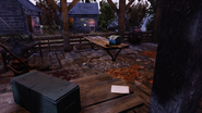 FO76 Camp Adams (PIONEERBOOK- Meal prep)