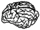Icon canine brain