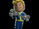 Repair bobblehead