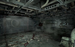 FO3 interior basement beneath the memorial