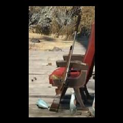 Карабін на стоянці «Червона ракета»
