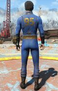 Fo4 vault 95 jumpsuit male