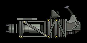 Gatling laser FoS
