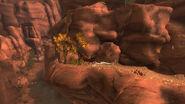 Three Marys gorge hollow log