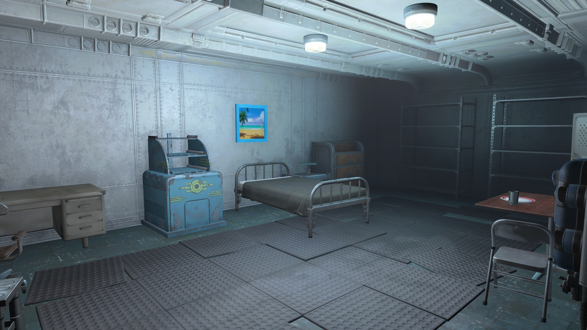 Vault 81 room fallout wiki fandom powered by wikia for Vault rooms