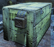 FO4 Trapped wooden crate