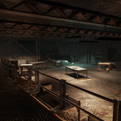 The gold bullion counting room (Empty)