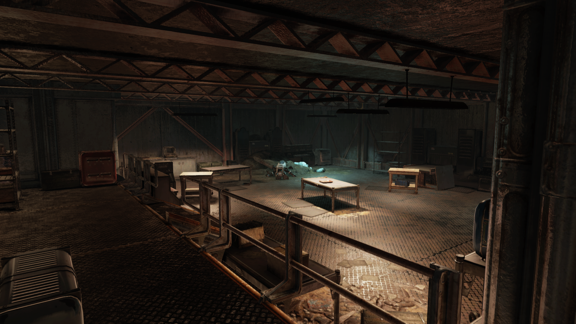 FO76WL V79 GOLD COUNTING ROOM EMPTY