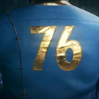 Комбінезон Сховища 76 (вид ззаду)