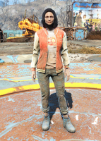 Fo4 Nuka-World Geyser Jacket and Jeans female