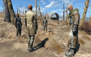 Fo4 Settler Burial random encounter