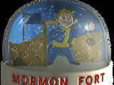 Snow globe - Mormon Fort