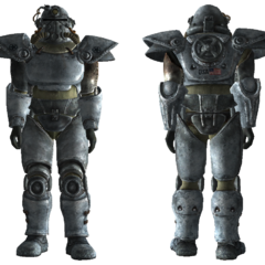 Winterized T-51b power armor