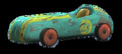Derby-winning toy car