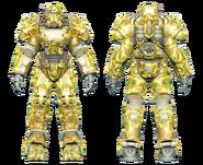 FO4CC T-60 power armor swamp camo