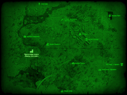 FO4 Хранилище лодок «Викед Шиппинг» (карта мира)
