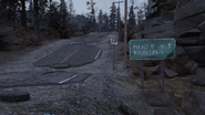 FO76 191020 State Route 97 Palace Winding Path