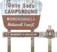 FO76 Dolly Sods Campground