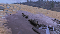 FO76 New Gad skeleton scene 1