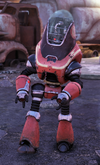FO76 Protectron Red Rocket
