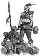 Fallout d20 Tribals by Tensen01