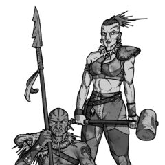 Tribal warriors from <i><a href=