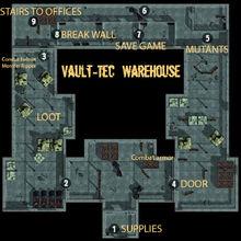 Los Vault-Tec warehouse