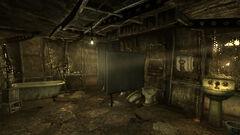 Mens restroom interior
