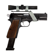 9mm pistol with all modifications