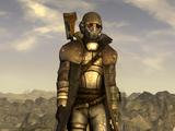 Armadura de combate de Ranger de la RNC