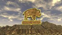 Bison Steve sign