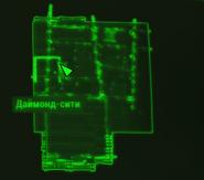 FO4 Дом Келлога карта