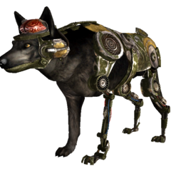 Cyberhound Mk III military model in <i><a href=