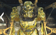Swamp camouflage paint T-60 power armor