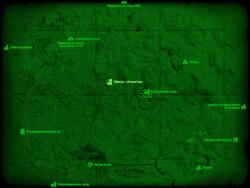 FO4 Офисы «Атлантик» (карта мира)