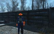 FO4 Burning hat